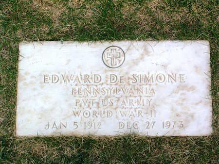 DE SIMON, EDWARD - Yavapai County, Arizona | EDWARD DE SIMON - Arizona Gravestone Photos