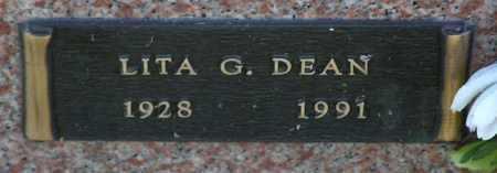 DEAN, LITA G. - Yavapai County, Arizona | LITA G. DEAN - Arizona Gravestone Photos