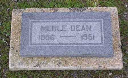 DEAN, MERLE - Yavapai County, Arizona | MERLE DEAN - Arizona Gravestone Photos