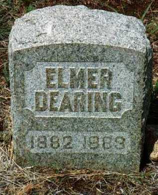 DEARING, ELMER AUD - Yavapai County, Arizona   ELMER AUD DEARING - Arizona Gravestone Photos