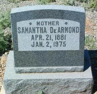 DE ARMOND, SAMANTHA - Yavapai County, Arizona | SAMANTHA DE ARMOND - Arizona Gravestone Photos