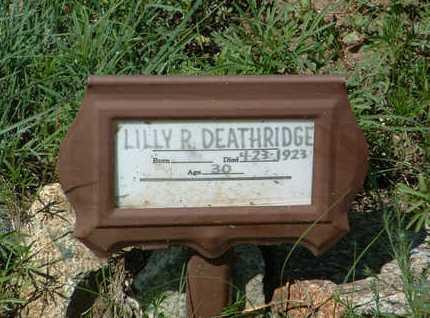FRANCIS DEATHRIDGE, L. - Yavapai County, Arizona | L. FRANCIS DEATHRIDGE - Arizona Gravestone Photos