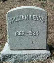 DEBUS, WILLIAM - Yavapai County, Arizona | WILLIAM DEBUS - Arizona Gravestone Photos