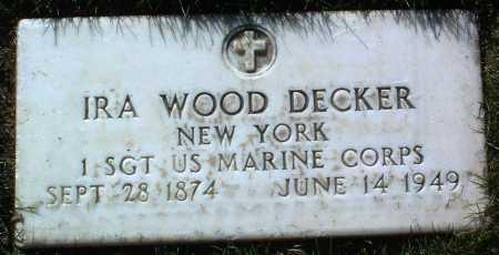 DECKER, IRA WOOD - Yavapai County, Arizona | IRA WOOD DECKER - Arizona Gravestone Photos
