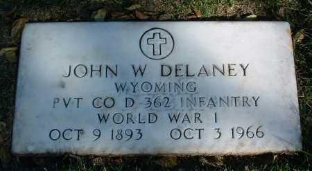 DELANEY, JOHN W. - Yavapai County, Arizona | JOHN W. DELANEY - Arizona Gravestone Photos
