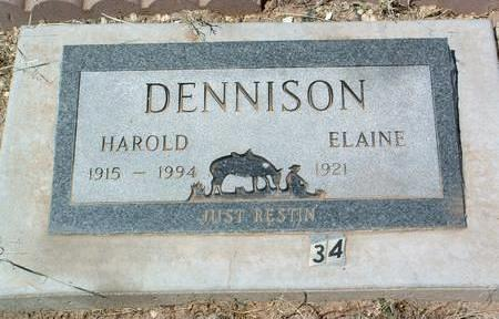 DENNISON, ELAINE - Yavapai County, Arizona | ELAINE DENNISON - Arizona Gravestone Photos