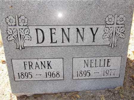 DENNY, NELLIE A. - Yavapai County, Arizona   NELLIE A. DENNY - Arizona Gravestone Photos