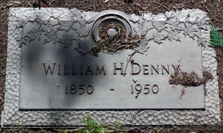 DENNY, WILLIAM H. - Yavapai County, Arizona | WILLIAM H. DENNY - Arizona Gravestone Photos