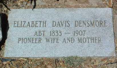 DAVIS DENSMORE, E. - Yavapai County, Arizona   E. DAVIS DENSMORE - Arizona Gravestone Photos