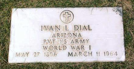 DIAL, IVAN LAWRENCE - Yavapai County, Arizona   IVAN LAWRENCE DIAL - Arizona Gravestone Photos