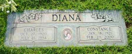DIANA, CONSTANCE - Yavapai County, Arizona | CONSTANCE DIANA - Arizona Gravestone Photos