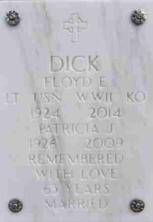 DICK, FLOYD E. (DDS) - Yavapai County, Arizona   FLOYD E. (DDS) DICK - Arizona Gravestone Photos