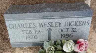 DICKENS, CHARLES WESLEY - Yavapai County, Arizona | CHARLES WESLEY DICKENS - Arizona Gravestone Photos