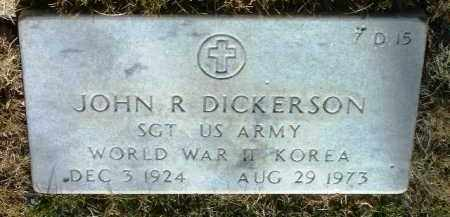 DICKERSON, JOHN R. - Yavapai County, Arizona   JOHN R. DICKERSON - Arizona Gravestone Photos