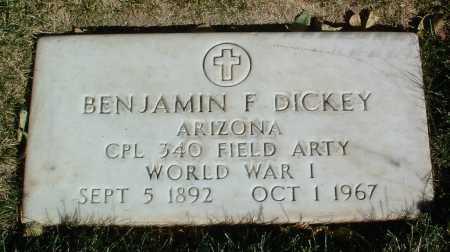DICKEY, BENJAMIN F. - Yavapai County, Arizona | BENJAMIN F. DICKEY - Arizona Gravestone Photos