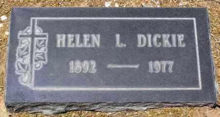 BREWSTER DICKIE, HELEN L. - Yavapai County, Arizona   HELEN L. BREWSTER DICKIE - Arizona Gravestone Photos