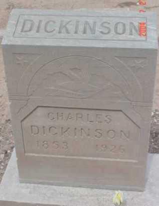 DICKINSON, CHARLES - Yavapai County, Arizona | CHARLES DICKINSON - Arizona Gravestone Photos