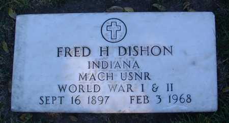 DISHON, FRED H. - Yavapai County, Arizona | FRED H. DISHON - Arizona Gravestone Photos