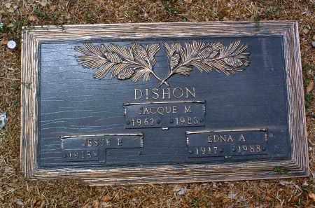 ANTHONY DISHON, EDNA A. - Yavapai County, Arizona | EDNA A. ANTHONY DISHON - Arizona Gravestone Photos