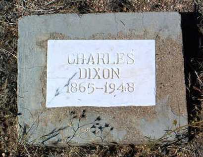 DIXON, CHARLES - Yavapai County, Arizona | CHARLES DIXON - Arizona Gravestone Photos