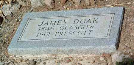 DOAK, JAMES - Yavapai County, Arizona   JAMES DOAK - Arizona Gravestone Photos