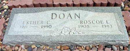 DOAN, ESTHER C. - Yavapai County, Arizona | ESTHER C. DOAN - Arizona Gravestone Photos