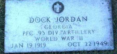 JORDAN, DOCK - Yavapai County, Arizona   DOCK JORDAN - Arizona Gravestone Photos