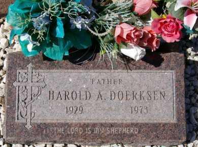 DOERKSEN, HAROLD ANDREW - Yavapai County, Arizona | HAROLD ANDREW DOERKSEN - Arizona Gravestone Photos