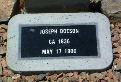 DOESON, JOSEPH - Yavapai County, Arizona   JOSEPH DOESON - Arizona Gravestone Photos