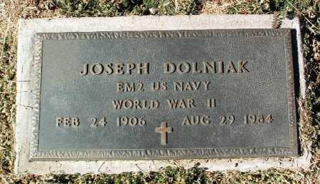 DOLNIAK, JOSEPH - Yavapai County, Arizona   JOSEPH DOLNIAK - Arizona Gravestone Photos