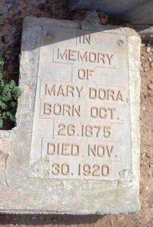 DORA, MARY - Yavapai County, Arizona | MARY DORA - Arizona Gravestone Photos