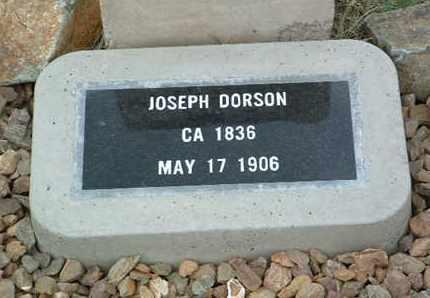 DORSON, JOSEPH - Yavapai County, Arizona | JOSEPH DORSON - Arizona Gravestone Photos