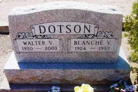 DOTSON, BLANCH V. - Yavapai County, Arizona | BLANCH V. DOTSON - Arizona Gravestone Photos