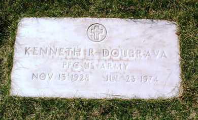 DOUBRAVA, KENNETH R. - Yavapai County, Arizona | KENNETH R. DOUBRAVA - Arizona Gravestone Photos