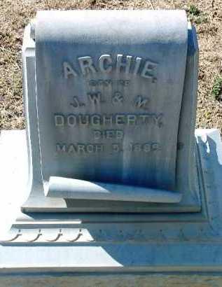DOUGHERTY, ARCHIE - Yavapai County, Arizona | ARCHIE DOUGHERTY - Arizona Gravestone Photos