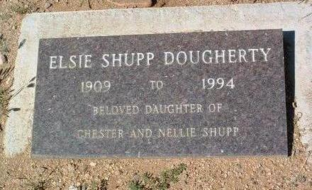 SHUPP DOUGHERTY, ELSIE - Yavapai County, Arizona | ELSIE SHUPP DOUGHERTY - Arizona Gravestone Photos