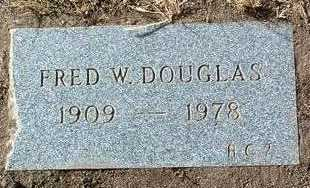 DOUGLAS, FRED WARREN - Yavapai County, Arizona | FRED WARREN DOUGLAS - Arizona Gravestone Photos