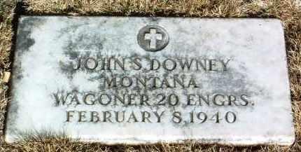 DOWNEY, JOHN S. - Yavapai County, Arizona | JOHN S. DOWNEY - Arizona Gravestone Photos
