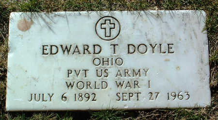 DOYLE, EDWARD T. - Yavapai County, Arizona | EDWARD T. DOYLE - Arizona Gravestone Photos
