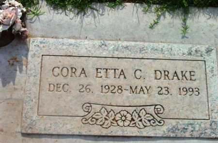 DRAKE, CORA ETTA C. - Yavapai County, Arizona   CORA ETTA C. DRAKE - Arizona Gravestone Photos