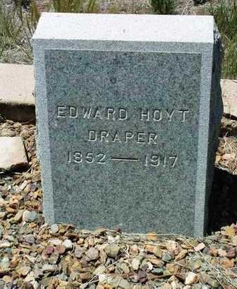 DRAPER, EDWARD HOYT - Yavapai County, Arizona   EDWARD HOYT DRAPER - Arizona Gravestone Photos