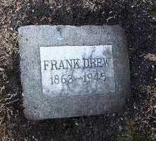 DREW, FRANK - Yavapai County, Arizona   FRANK DREW - Arizona Gravestone Photos