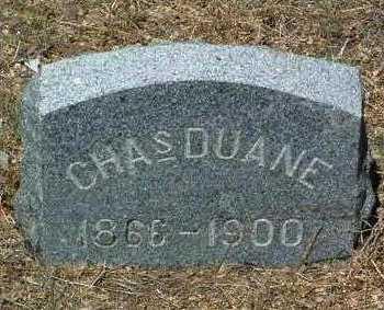 DUANE, CHARLES - Yavapai County, Arizona | CHARLES DUANE - Arizona Gravestone Photos