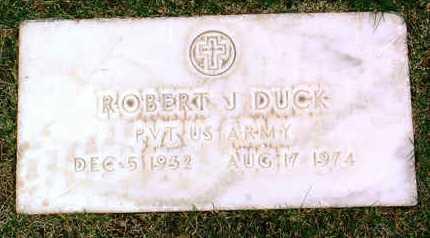 DUCK, ROBERT J. - Yavapai County, Arizona | ROBERT J. DUCK - Arizona Gravestone Photos