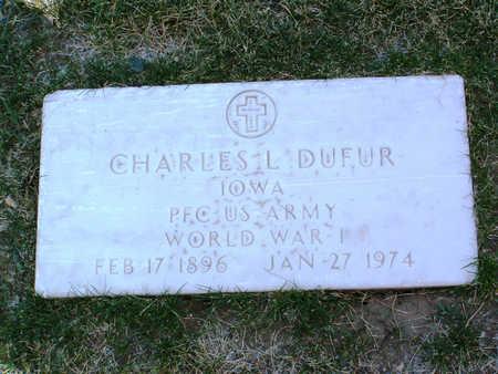 DUFER, CHARLES L. - Yavapai County, Arizona   CHARLES L. DUFER - Arizona Gravestone Photos