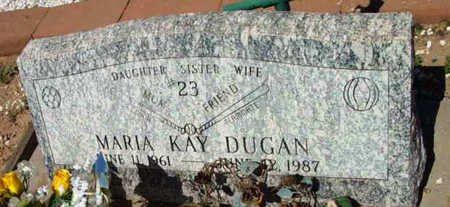 DUGAN, MARIA KAY - Yavapai County, Arizona | MARIA KAY DUGAN - Arizona Gravestone Photos