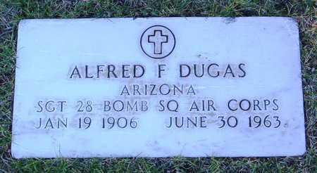 DUGAS, ALFRED FREDERICK - Yavapai County, Arizona   ALFRED FREDERICK DUGAS - Arizona Gravestone Photos