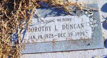 DUNCAN, DOROTHY L. - Yavapai County, Arizona | DOROTHY L. DUNCAN - Arizona Gravestone Photos