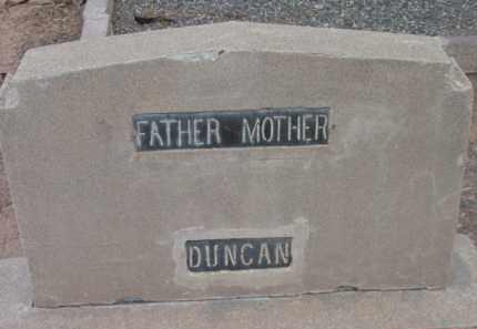 DUNCAN, MOTHER - Yavapai County, Arizona | MOTHER DUNCAN - Arizona Gravestone Photos