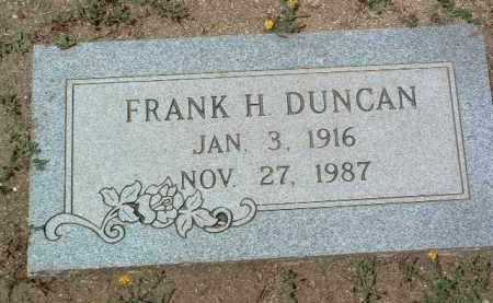 DUNCAN, FRANK H. - Yavapai County, Arizona | FRANK H. DUNCAN - Arizona Gravestone Photos